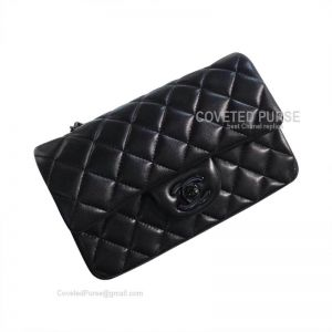 Chanel So Black Small Flap Bag Lambskin With Black HW