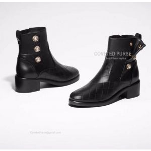 Chanel Short Boots 185295