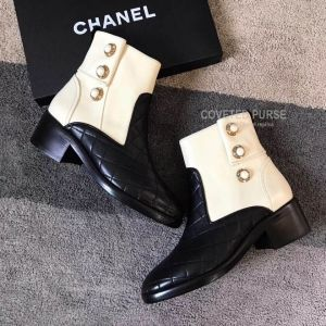Chanel Short Boots 185296
