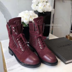 Chanel Short Boots 185306
